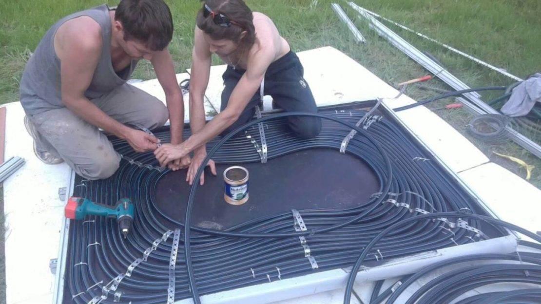 Солнечный коллектор для бассейна: нагреватель для бассейна своими руками
