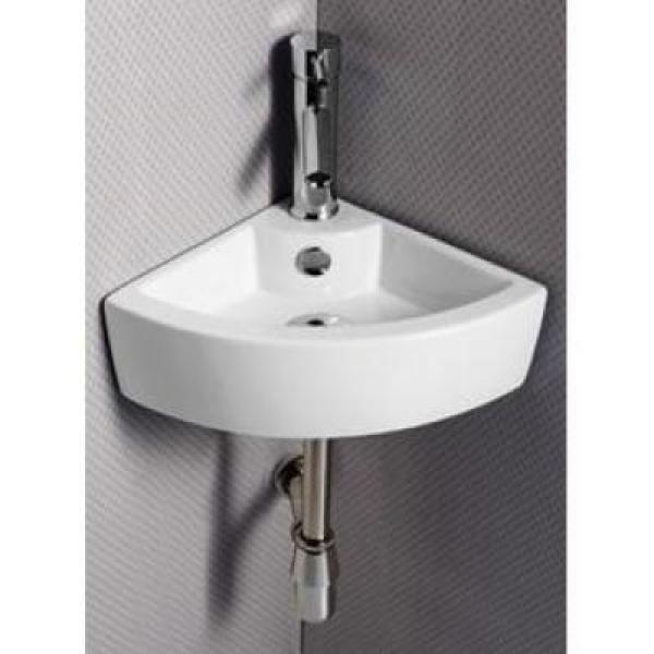 Угловые раковины (82 фото): маленький умывальник в ванную комнату, подвесной мини-рукомойник и другие размеры мойки для угла, варианты с пьедесталом