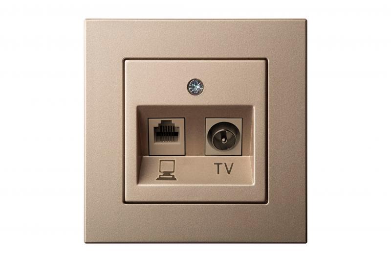 Оптимальная высота розетки от пола для телевизора на стене