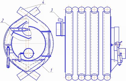 Как собрать печь булерьян (бренеран) своими руками: вариант с водяным контуром