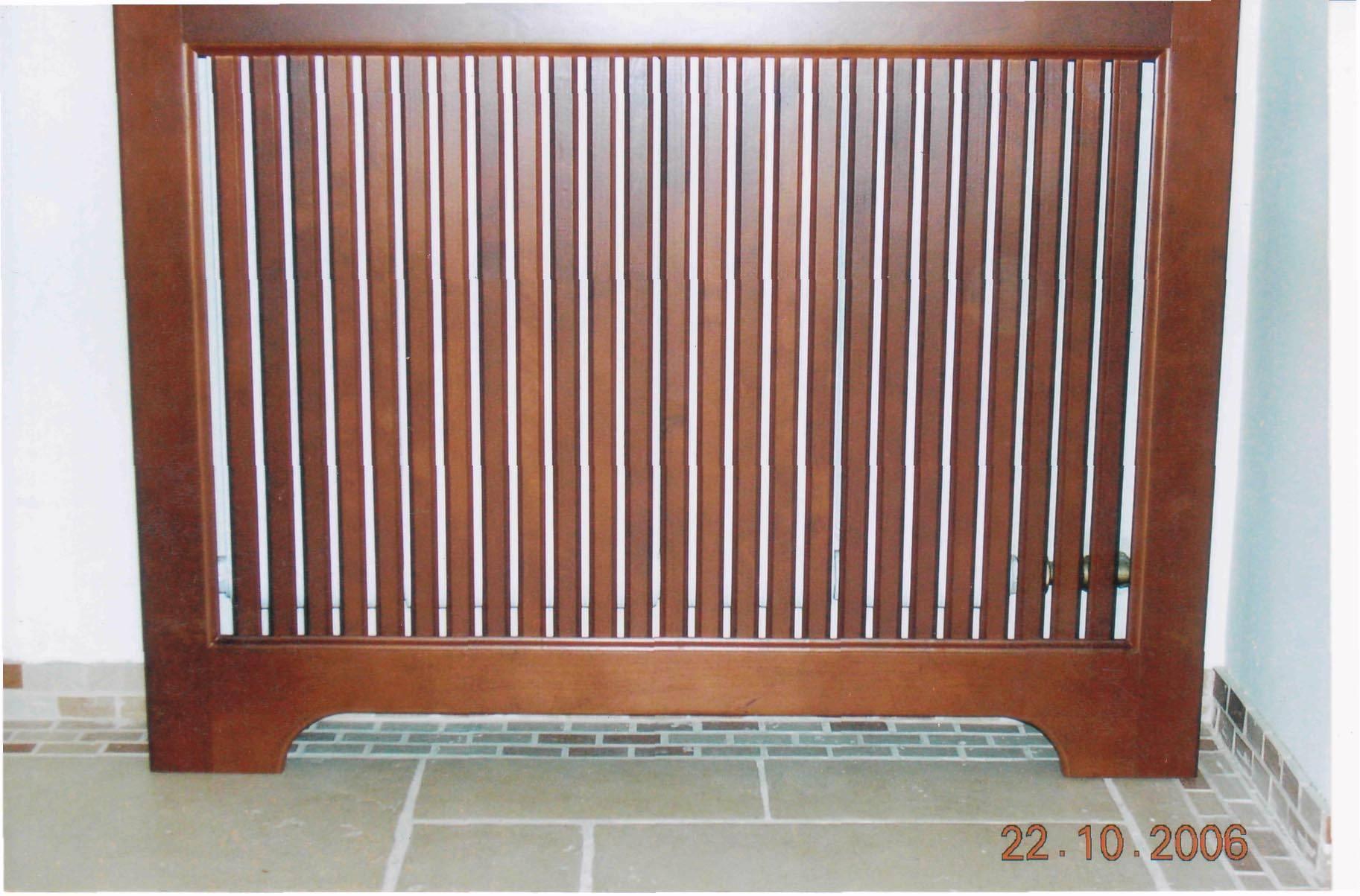 Декоративные решетки на радиаторы отопления своими руками
