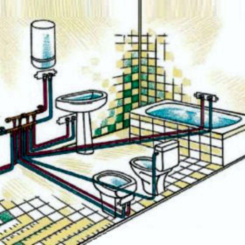 Разводка и монтаж сантехники своими руками: общие положения и полезные советы