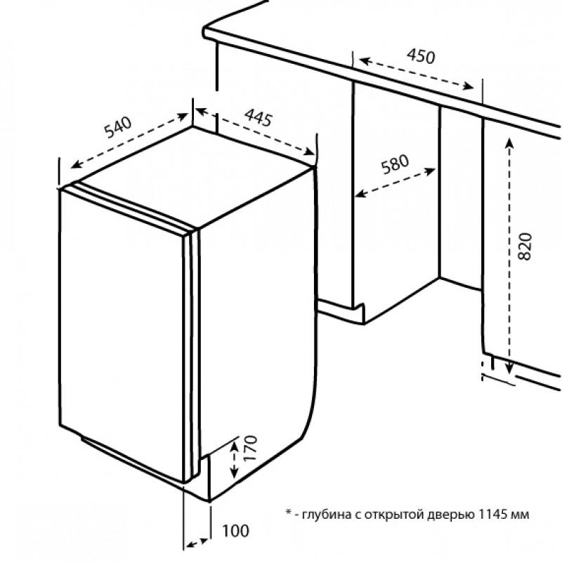 Посудомоечная машина korting kdi 45175 — обзор, характеристики, отзывы