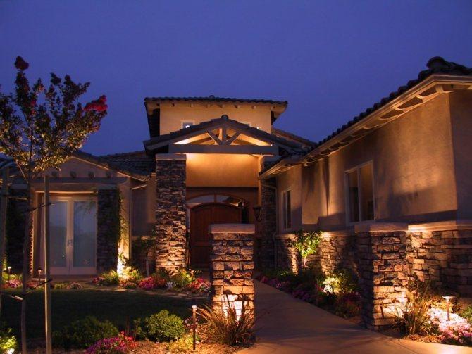 Загородные дома: фото внутри и снаружи