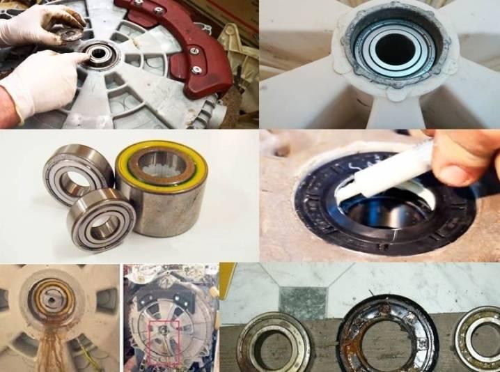 Замена подшипников на разных моделях стиральных машин: индезит и lg, пошаговая инструкция, причина поломки