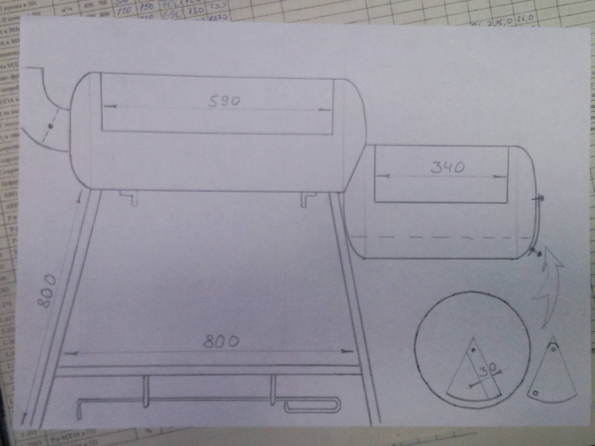 Мангал из газового баллона своими руками: инструкция по изготовлению
