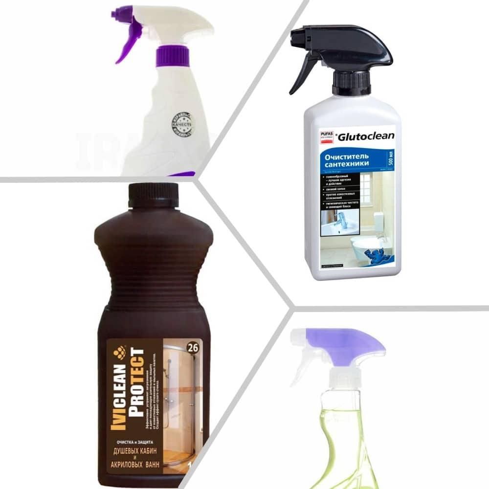 Средство для чистки ванны, не повреждающее поверхность