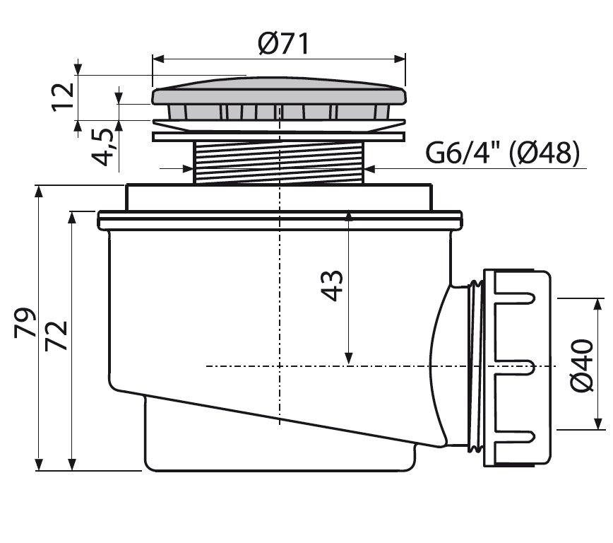 Сифон (слив) для душевой кабины: виды, рекомендации по выбору, процесс установки |
