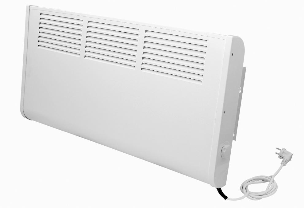 Электрические настенные конвекторы: экономичные модели отопления с терморегулятором на стену для дачи, установка обогревателя с вентилятором