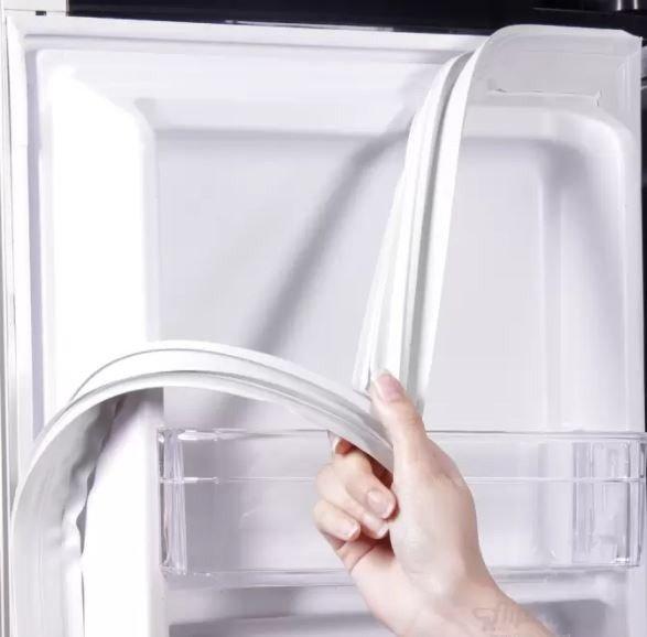 Замена резинки на двери холодильника: монтаж уплотнителя