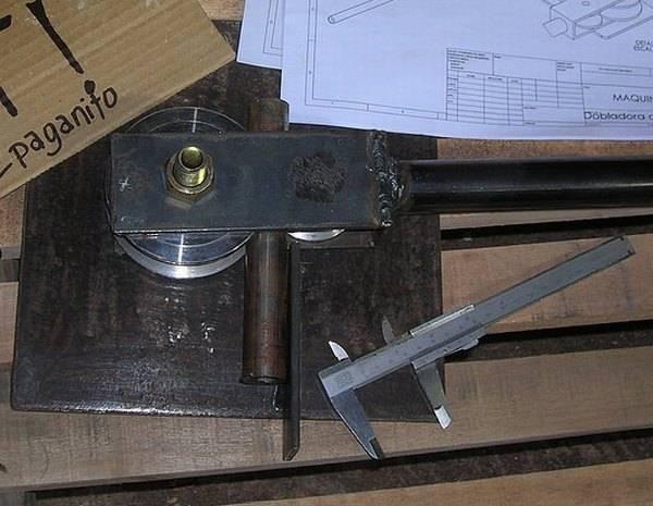 Как сделать трубогиб своими руками - как сделать простое устройство в домашних условиях