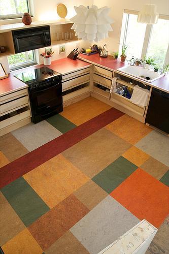 Какой пол выбрать для кухни? сравниваем и выбираем оптимальный вариант (фото)