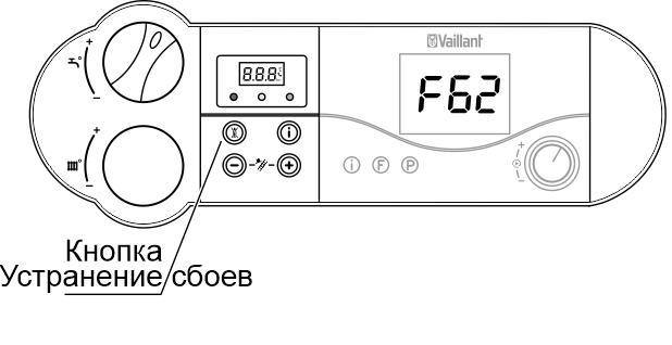 Ошибки котла вайлант (f28, f75, f22, f29, f39) и как их исправить
