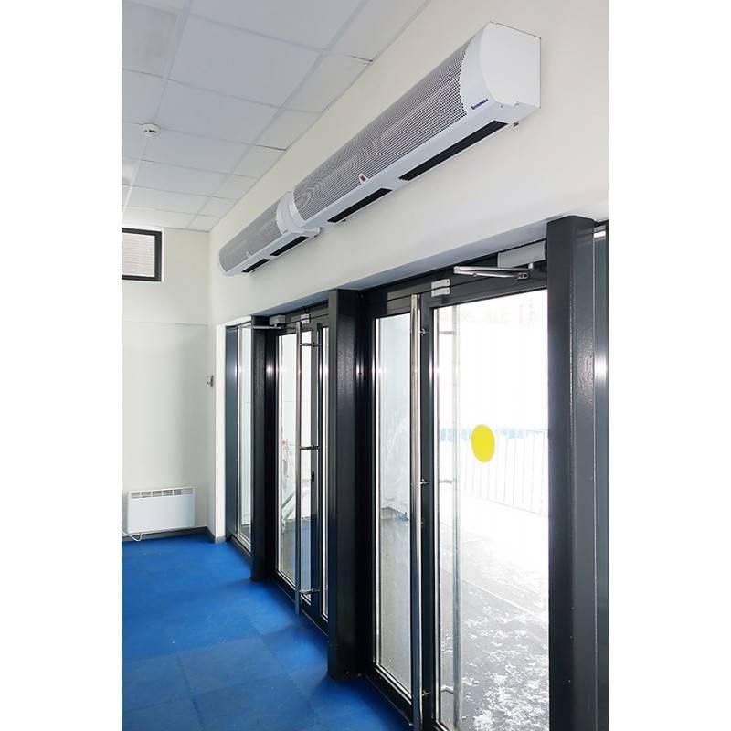 Тепловая завеса: виды и подключение оборудования