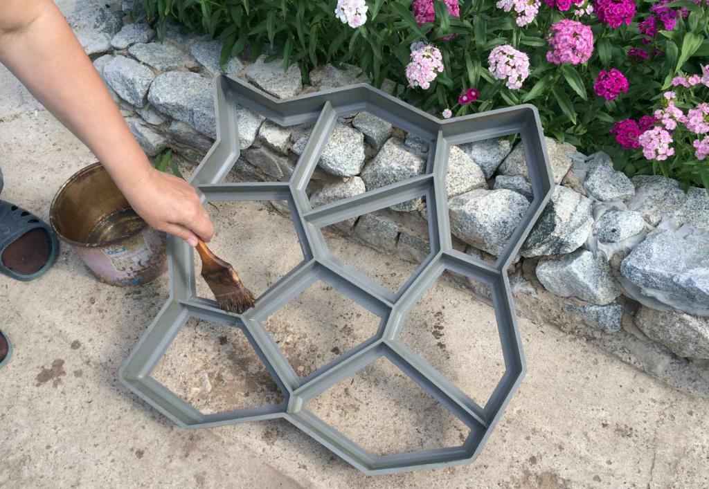 Формы для тротуарной плитки своими руками – изготовление по шагам