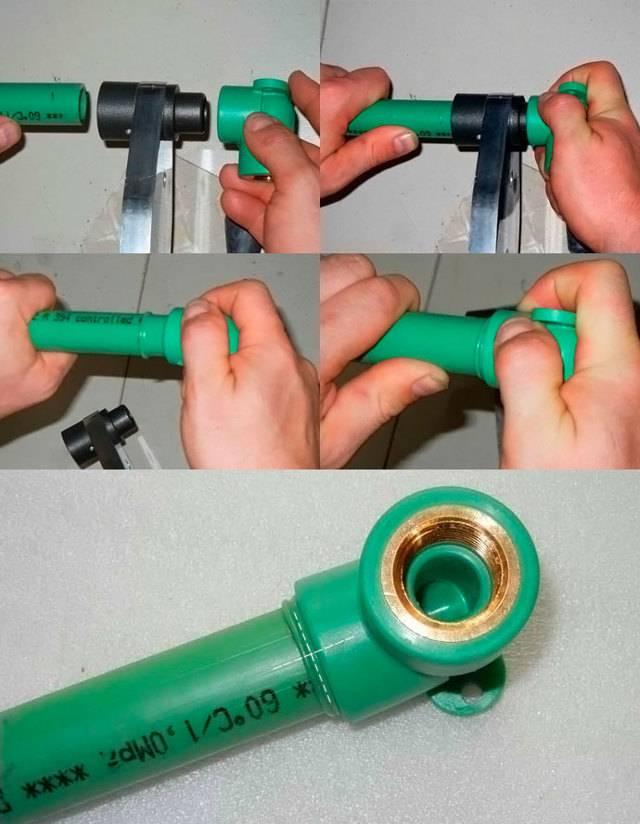 Монтаж полиэтиленовых труб своими руками: как соединить пэ трубопровод, способы сварки