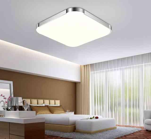 Потолочные светодиодные светильники для дома: как выбрать, разновидности, преимущества и недостатки, фото и видео обзор популярных моделей