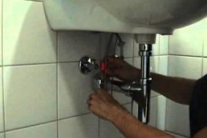 Донный клапан для раковины: видео-инструкция по монтажу своими руками