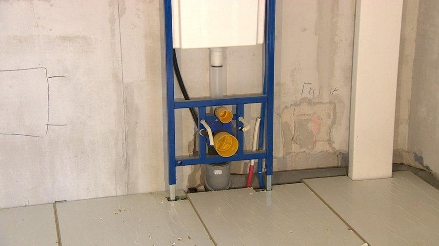 Установка подвесного унитаза с инсталляцией: пошаговая инструкция для домашнего мастера