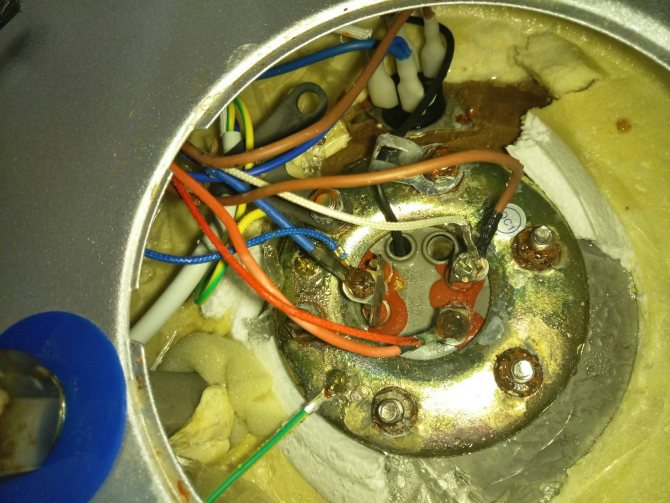 Ремонт водонагревателя термекс 80 л.