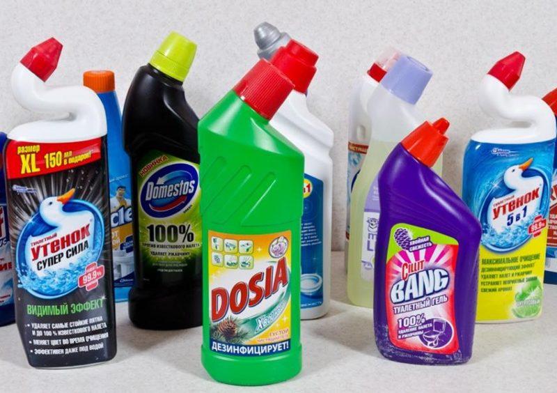 Как очистить унитаз от известкового налета: народными и специализированными средствами