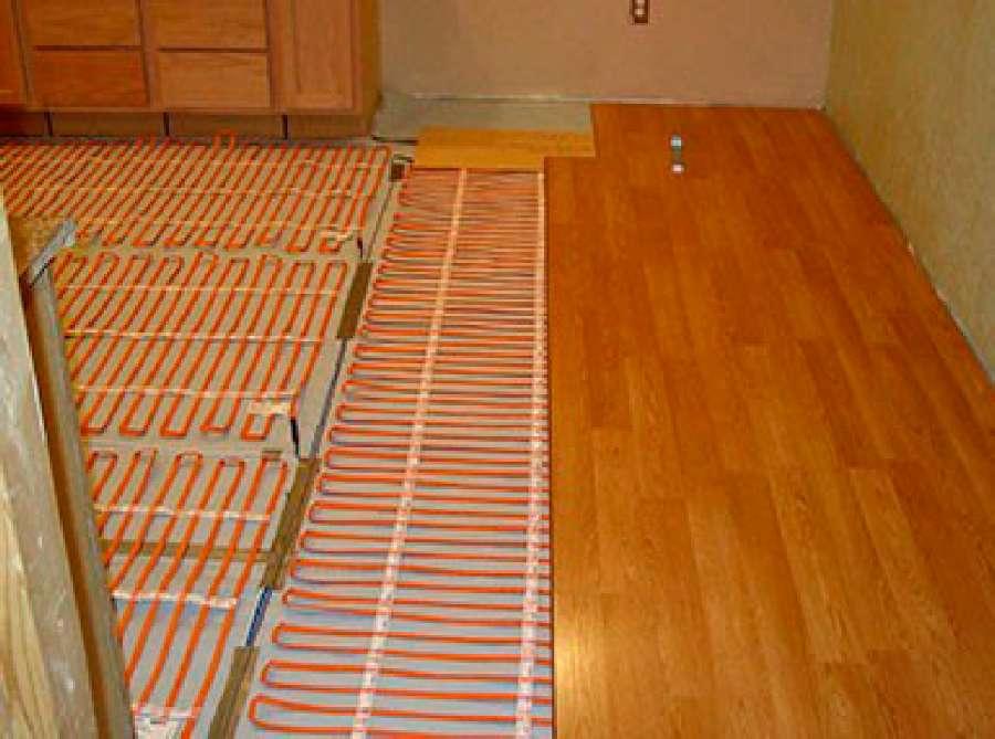 Теплый пол под ламинат, какой выбрать?