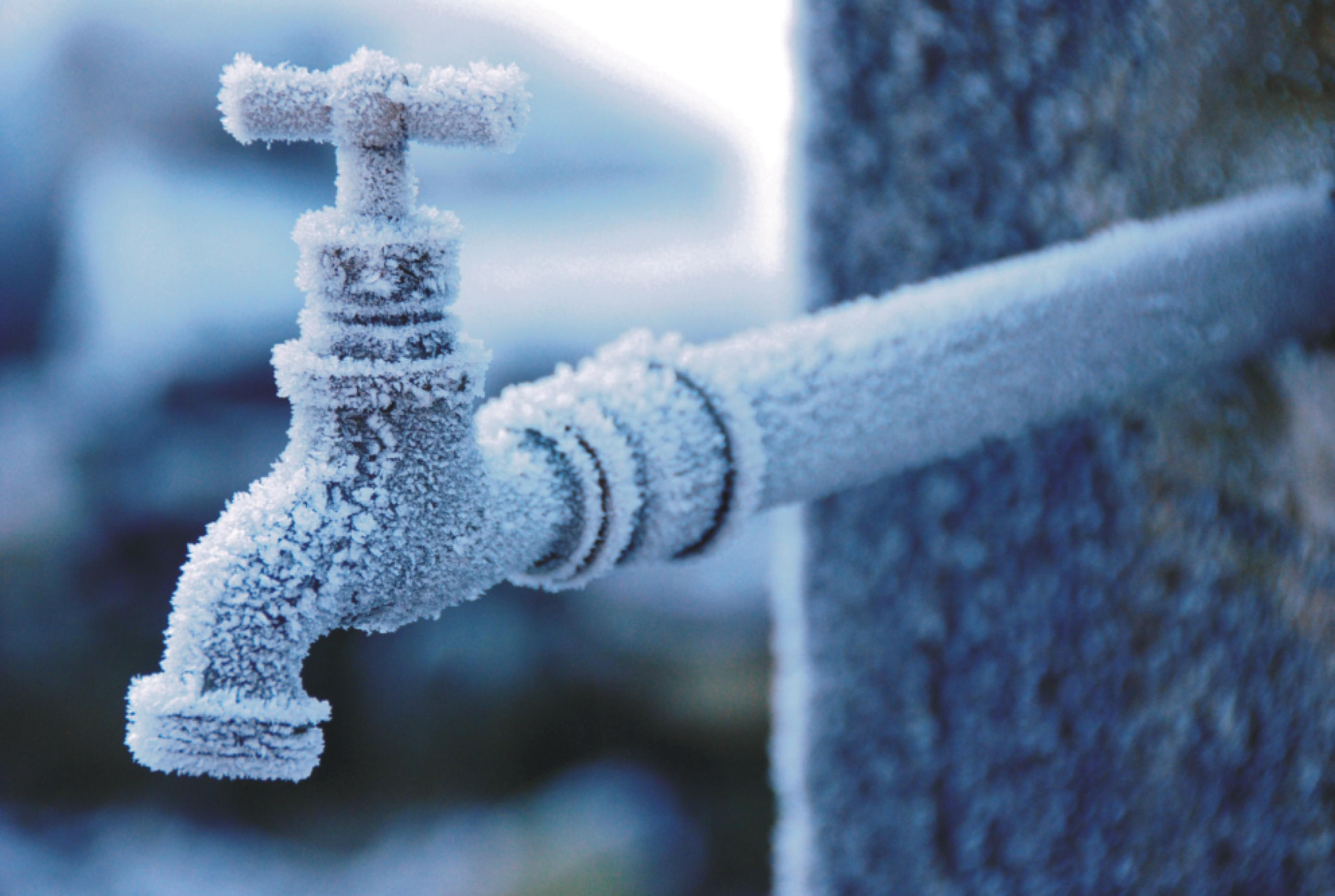 Быстро отогреваем замерзшую канализационную трубу под землей
