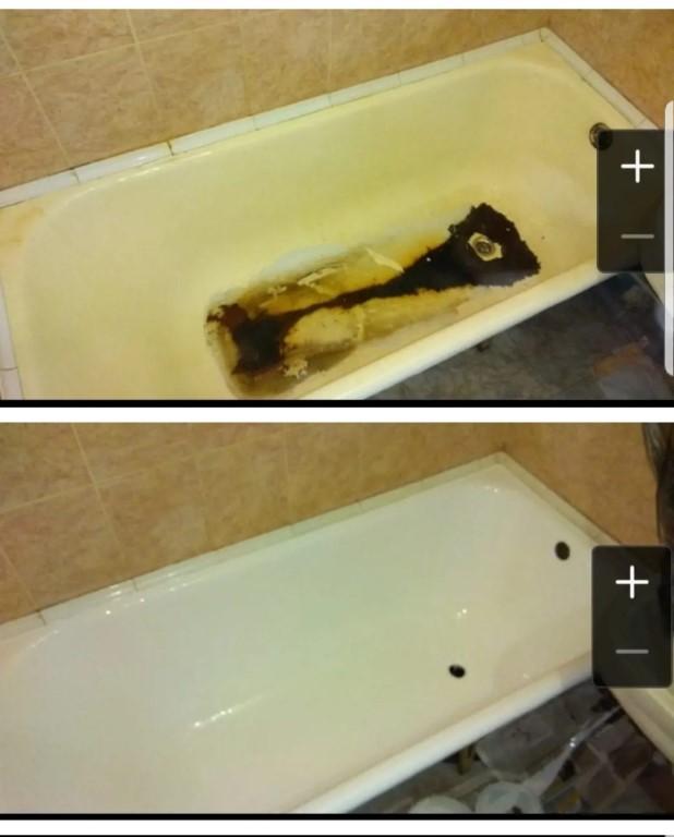 Реставрация ванны своими руками жидким наливным акрилом или вкладышем: видео-инструкция