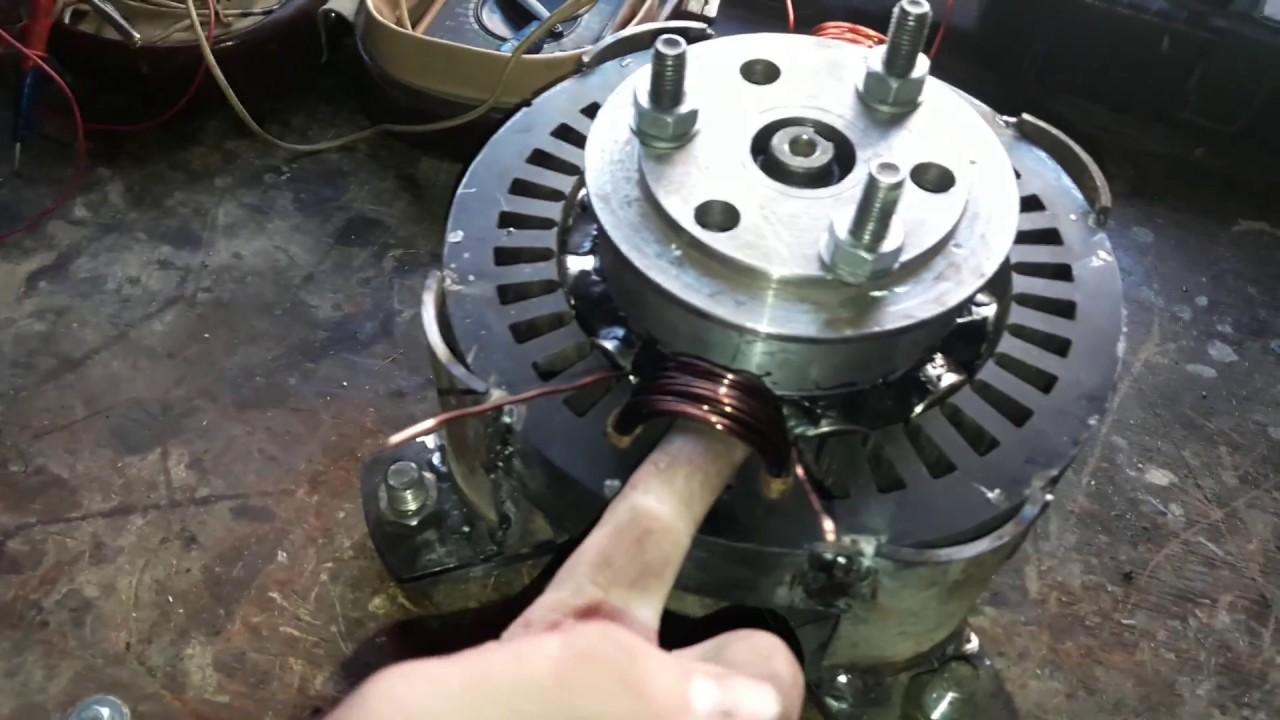 Изготовление ветрогенератора своими руками из автомобильного генератора
