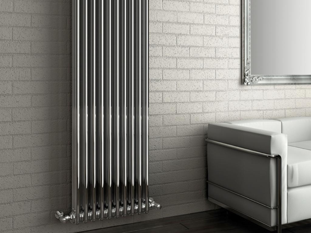 Вертикальные радиаторы отопления для квартиры: батареи трубчатые высокие и настенные водяные
