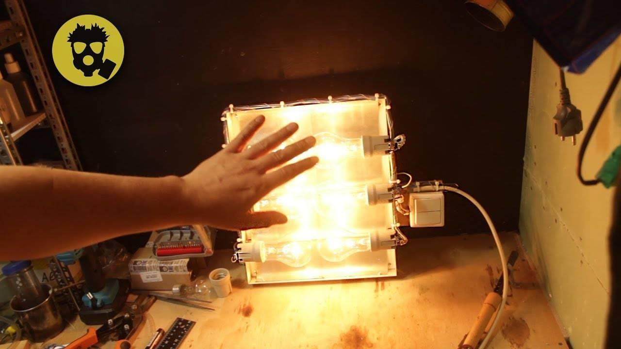 Обогреватель своими руками: делаем полноценный электрический и простые пламенные