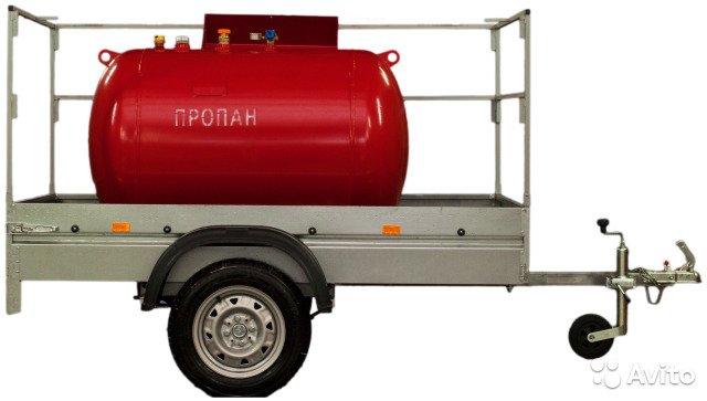 Мобильный газгольдер — передвижная емкость на прицепе для хранения газа