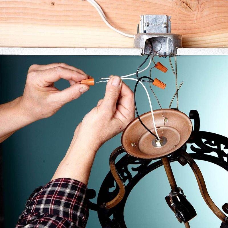 Как собрать люстру: фото-инструкция как подключить и установить своими руками. топ-лучших идей смотрите здесь!