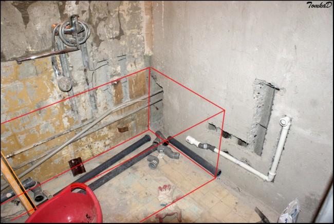 Разводка в ванной: способы укладки и особенности планировки подвода труб (115 фото)