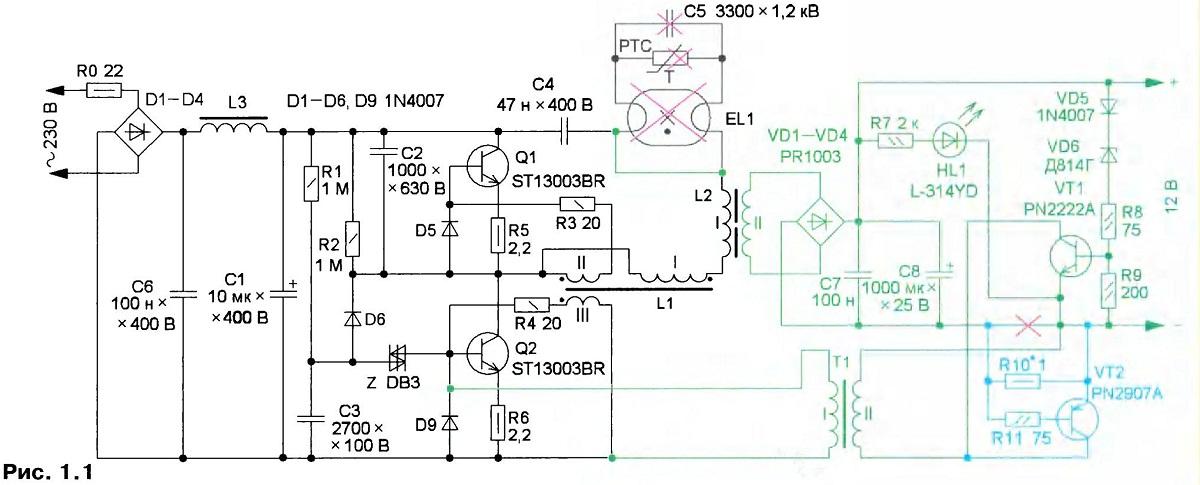 Балласт для люминесцентных ламп – принцип работы, устройство, стоимость