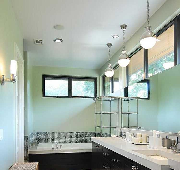 Как правильно организовать освещение в ванной комнате