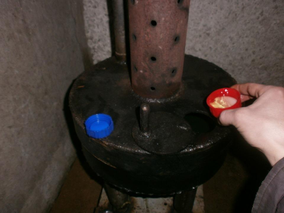 Сборка котла на отработанном масле с водяным контуром