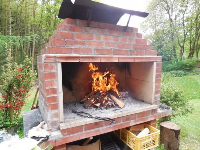 Строим барбекю из кирпича своими руками: пошаговое руководство с фото и схемы строительства