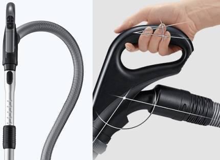 Пылесосы Samsung с турбиной Anti Tangle: технические характеристики + обзор моделей