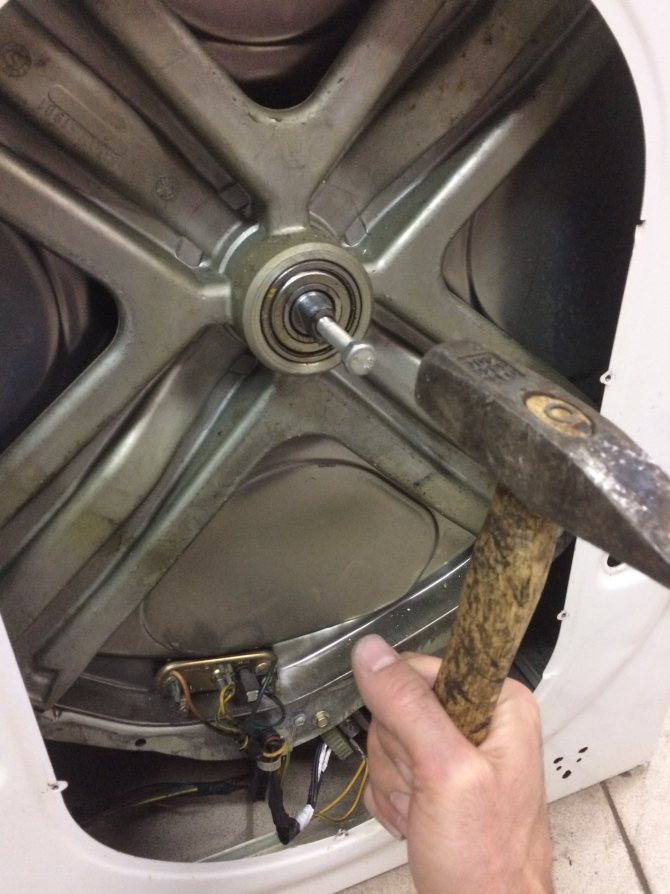 Инструкция по замене подшипника на стиральной машине индезит