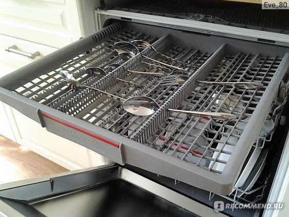 Встраиваемая посудомоечная машина bosch smv44kx00r установка