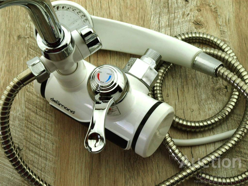 Водонагреватель проточный электрический на душ – выбор, установка
