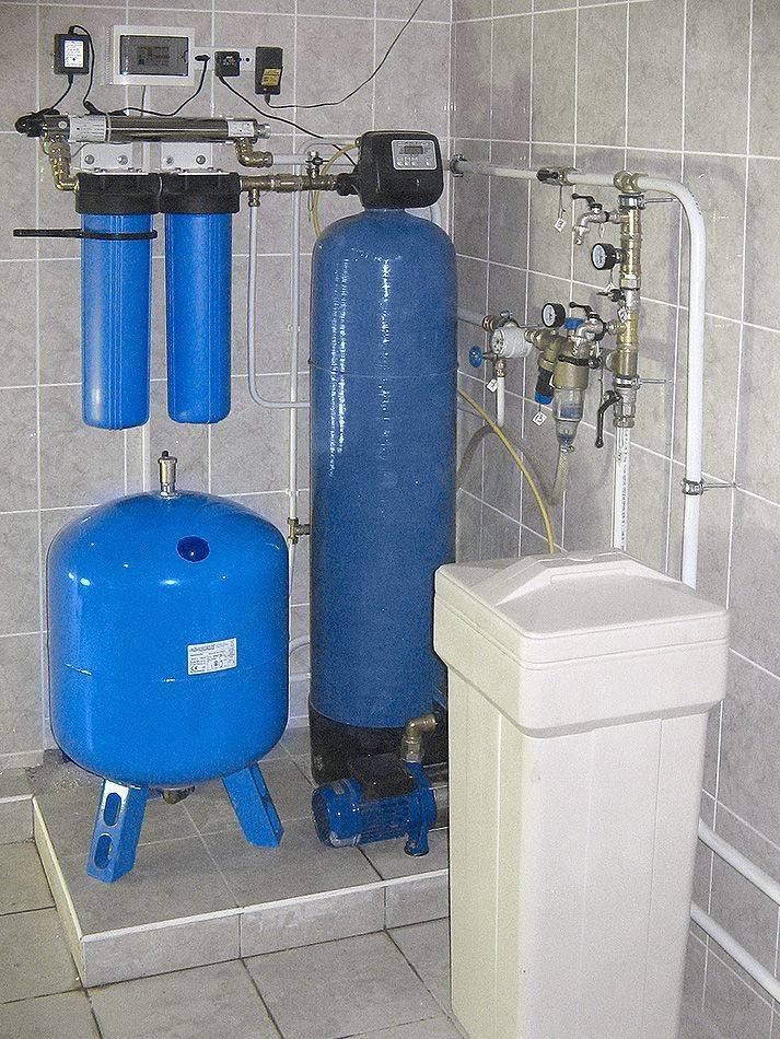 Системы очистки воды для загородного дома: классификация фильтров + способы очистки воды