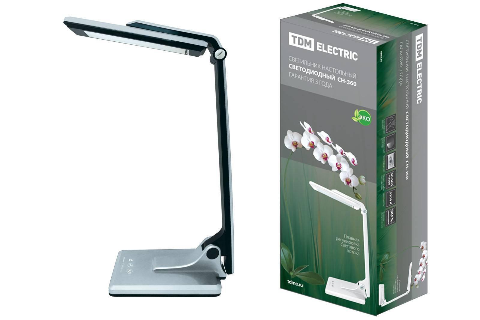 Светодиодные настольные лампы: виды, правила выбора + обзор лучших производителей
