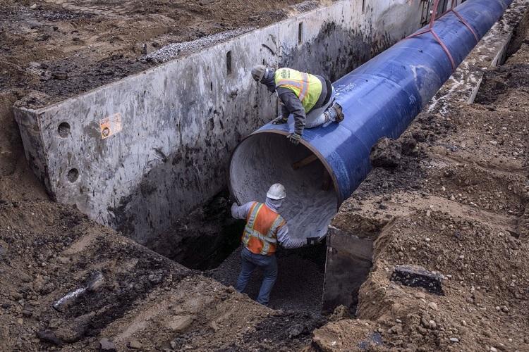 Прокладка газопровода: методы, оборудование, требования. охранная зона газопровода