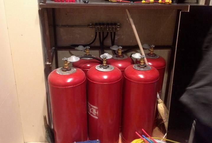 Отопление дома газовыми баллонами – расход топлива, плюсы и минусы