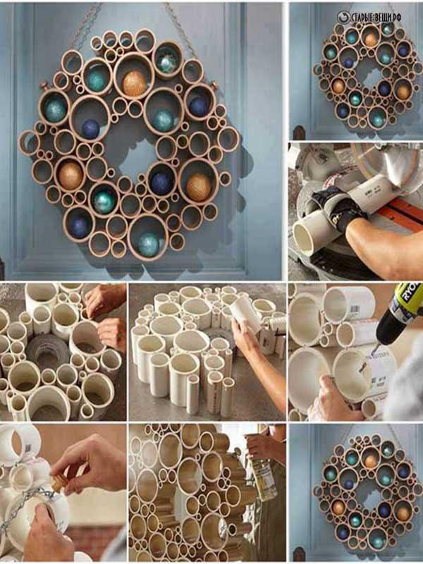 Поделки из пластиковых труб: 50 оригинальных самоделок своими руками