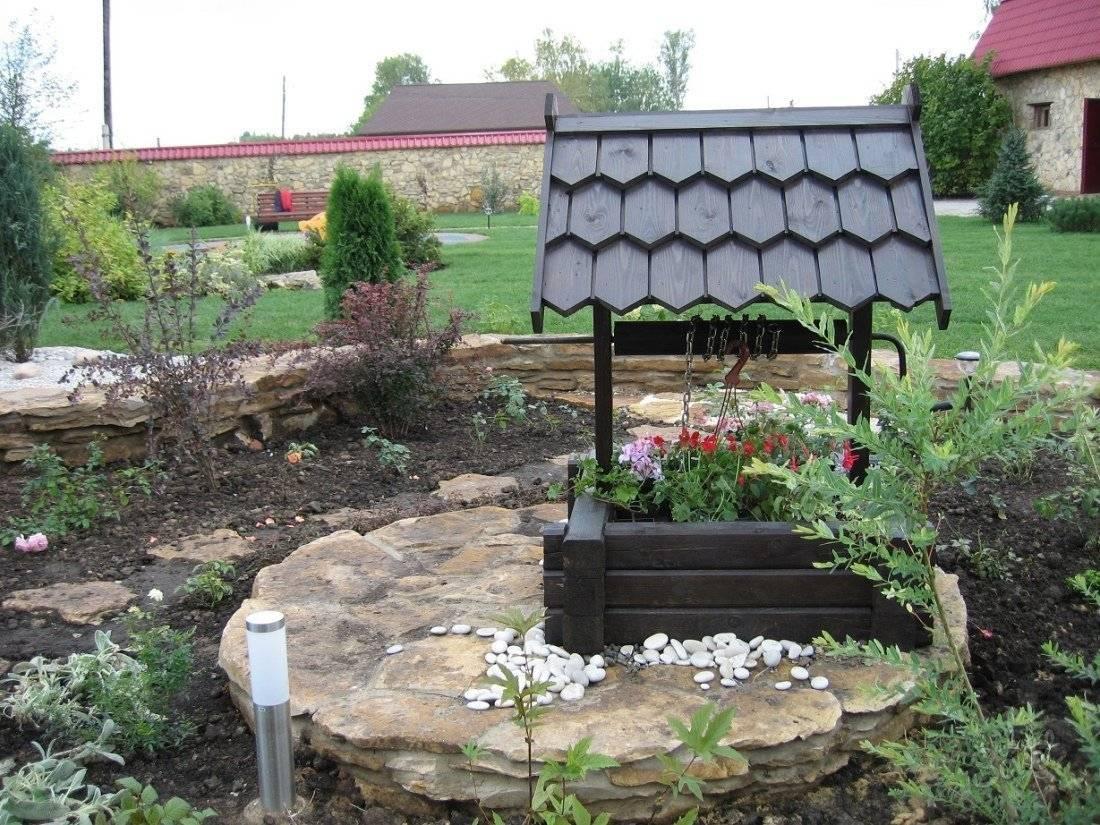 Домик для колодца: варианты постройки