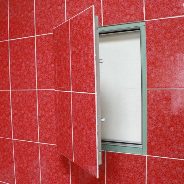 Сантехнические люки для ванной и туалета