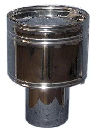 Как сделать дефлектор на дымоход своими руками, если задувает газовый котел ветром